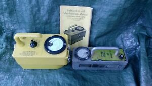 Industrial Nuclear Co Victoreen 717 Radiological Survey Meter Geiger Counter