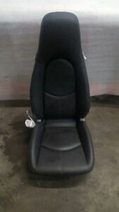 09 12 Porsche Carrera 911 997 Black Leather Front Seat 99752132902