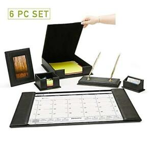 Mind Reader 6 Piece Organizer Set Desk Calendar Memo Business Card Document