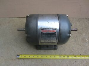 Craftsman Electric Motor 1 2 Hp 1750 Rpm 1 Phase 115 Double 1 2 Diameter Shafts