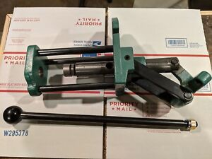 RCBS Ammomaster reloading press with 50 BMG shell holder
