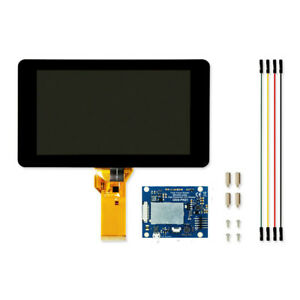 New 7 Inch Lcd Display Touch Screen 800x480 For Raspberry Pi 3 B Plus