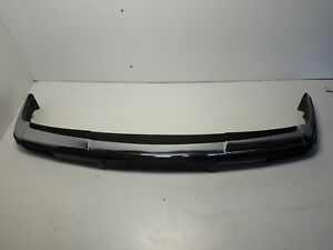 Aq18124 1988 Jaguar Xj6 Front Bumper Cover Black Chrome Oem