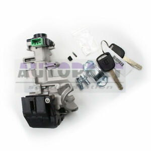 Ignition Switch Cylinder Lock Auto Trans With 2 Keys For 03 04 05 Honda Civic