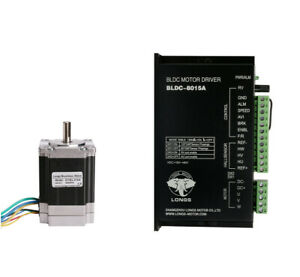 57blf02 Brushless Dc Motor 3000rpm 125w 24v driver Bldc 8015a Medical Devices