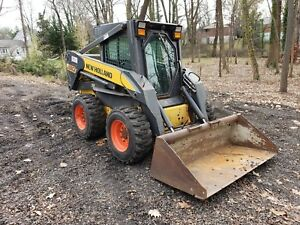 New Holland L180 Skid Steer Loader 1400 Hrs Erops W heat Runs Well