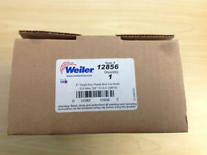 Weiler 12856 Single Row Flared Wire Cup Brush 6