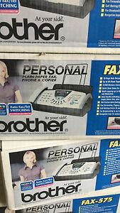Brother 575 Fax Machines
