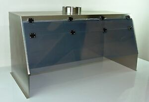 Cleatech Stainless Steel 48 Ducted Fume Hood