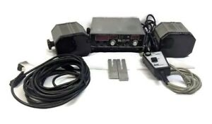 Kustom Signals Pro 1000 Band Police Radar Complete Unit Dual Antenna