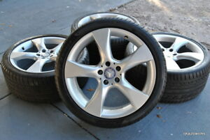 19 Mercedes benz Cls Staggered Wheels Tires Oem A2184010402 A2184010502 Cls550