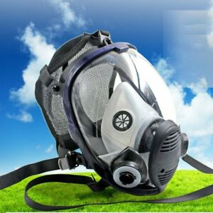 Full Face Chemical Mask Anti gas Mask Acid Dust Respirator Paint Filter Mask Ah