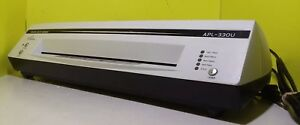 Royal Sovereign Apl 330u 13 Hot And Cold 4 roller Pouch Laminator Apl 33ou