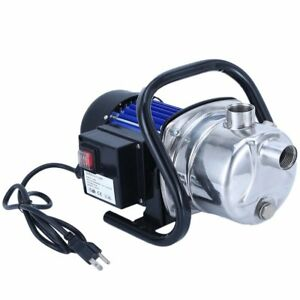 1 6 Hp Electric Booster Pump 1200w 3500l h Shallow Well Garden Water Pressure Ur