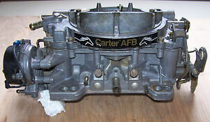 Carter Afb D100 9635 Sa 4 Barrel Carburator Gm Ford Mopar Ratrod