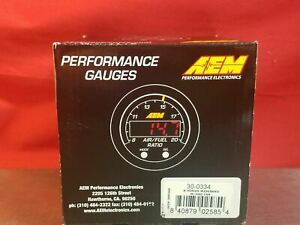 Aem X Series Wideband Uego Air Fuel Sensor Controller Gauge With Obd Can 30 0334