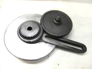 Banjo Bracket With Gears And Guard For 9 And Light 10 10k South Bend Lathe