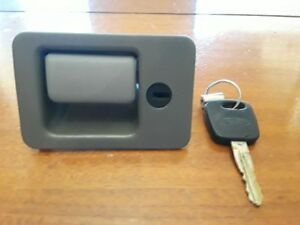 1994 2004 Ford Mustang Glove Box Compartment Latch Lock Handle Black