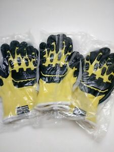 3 Pair Superior Du point L Kevlar 1500 Gloves