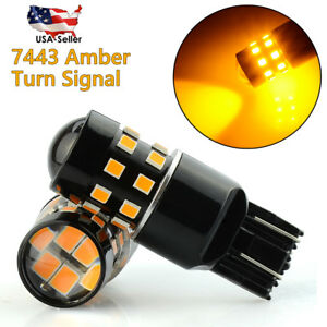 02 Pcx7443 7440 Led Turn Signal Tail Light Blinker Bulb Lamp Amber Yellow Honda