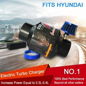 For Hyundai Supercharger Turbo Charger Kit Electric Universal 12v Turbocharger
