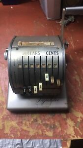 Vintage Rare Paymaster Check Writer Series X 550 With Key