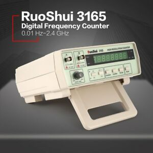3165 Digital High Precision Radio Frequency Counter Tester Meter 0 01hz 2 4ghzbe
