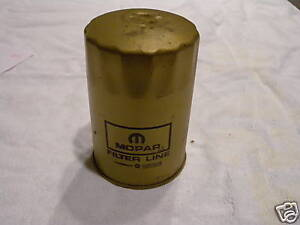 413 426 Max Wedge Race Hemi L 130 Gold Oil Filter
