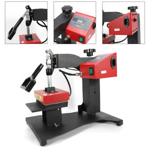Generic Manual Digital Pen Hot Presses Stamping Machine 110v Red Iron