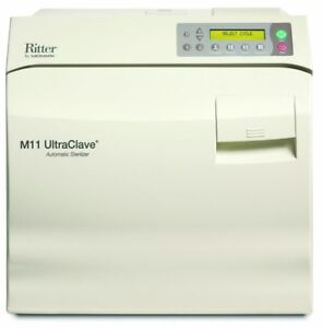 Ritter Midmark M11 Ultraclave 6 5 Gal Steam Autoclave Sterilizer M11 Medical