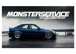Spoiler Ducktail Monsterservice V 2 For Lexus Is200 300 Toyota Altezza