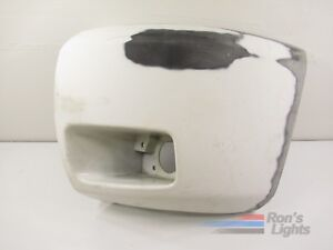 2007 2013 Chevy Silverado 1500 Front Bumper Molding Oem Lh Driver White Used