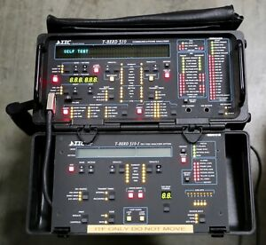 Ttc T berd 310 1 Ds1 ds0 Communications Analyzer With 9 Expansion Mods