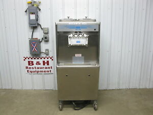 Taylor 754 27 Soft Serve Twin Twist Ice Cream Machine Air Cooled Single 1 Phase