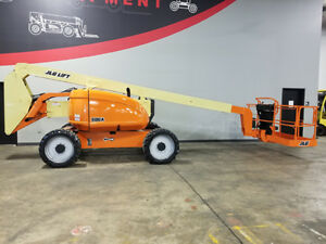 2005 Jlg 600a 500lb Pneumatic Articulating Boom Lift Deutz Diesel Aerial Lift