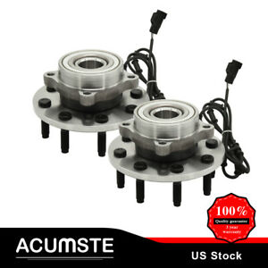 For 2003 2005 Dodge Ram 2500 3500 Front Wheel Bearing And Hub W Abs 4wd 8lug