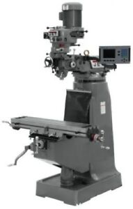 Jet 690244 Jtm 1 Mill With Acu rite 200s Dro