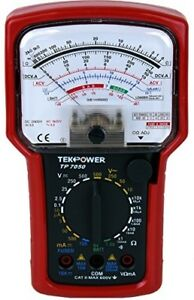 High Accuracy Tester Ac Dc Volt Amp Display Meter Analog Multimeter Battery New
