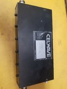 Tunable Celwave 806 821mhz Bandpass Filter Cfx11 6