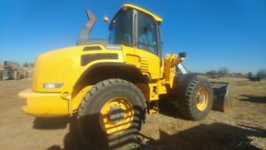 2012 Volvo L50g Cab A c Rubber Tire Wheel Loader 2797hrs New