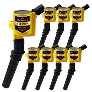 Ignition Coil 8 Pack For Ford Multispark Blaster Epoxy 4 6l 5 4l Dg508 F 150 Xl