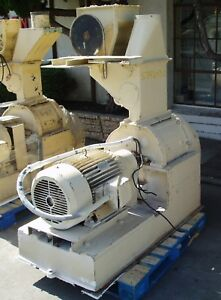 50 Hp Jacobson Air Swept Hammer Mill
