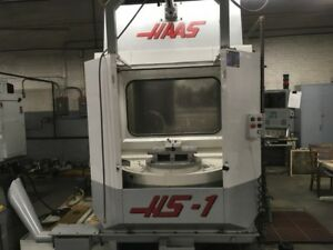 Cnc Horizontal Machining Center Haas Hs 1 12 000 Rpm 2 Pallet 20 Hp Cat 40