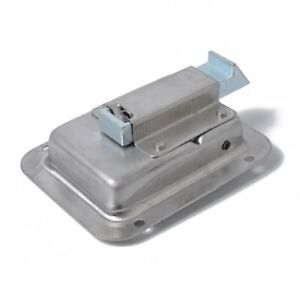 2x Stainless Steel Paddle Door Lock Latch Handle Truck Tool Box Trailer With Is