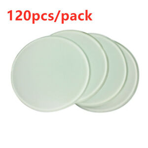 120pcs pack Diameter 3 9 Round Sublimation Blank Glass Coaster For Heat Press