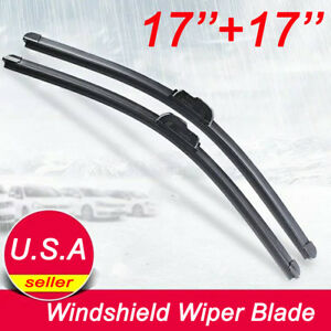 17 17 Windshield Wiper Blades Jhook Bracketless Oem Quality Beam All Season