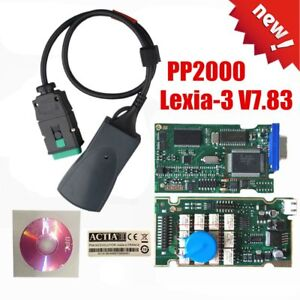 Diagnostic Interface Diagbox Scanner V7 83 Pp2000 Lexia3 Fit For Citroen Yi