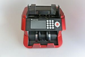 Bank Grade Bill Cash Counter Carnation Fast User Friendly Money Counting Red
