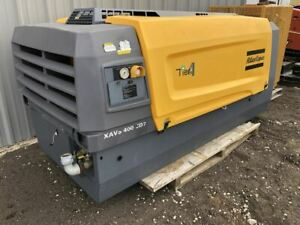 2015 Atlas Copco Xavs 400 Cd7 Air Compressor