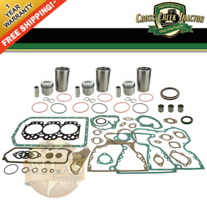 Eokjd3164b New Engine Overhaul Kit John Deere 1520 1530 350b With 3 164 Dsl Eng